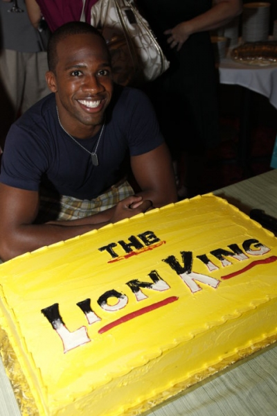 Dashaun Young (Simba) and celebratory cake