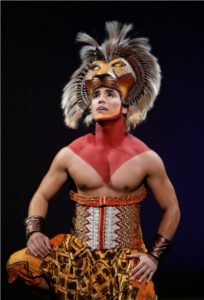 The Lion King's New Simba - Adam Jacobs