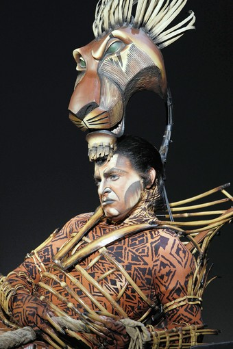 "J. Anthony Crane stars as Scar in ""The Lion King"" at Chrysler Hall in Norfolk"