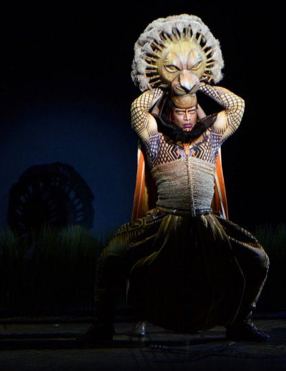 Mufasa played by Dionne Randolph