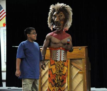 Lion King Cast at Walter Long Elementary