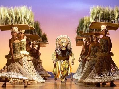 Lion King Minskoff Theatre Cast