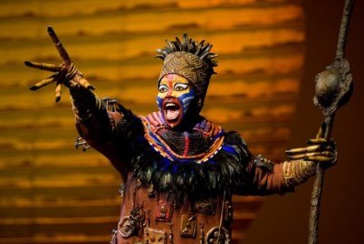 Buyi Zama as Rafiki in The Lion King