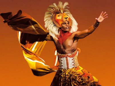 Andile Gumbi in The Lion King Musical