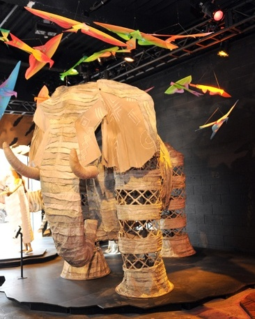 The Lion King pop-up exhibit in New York City