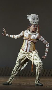 Nia Holloway as Nala in The Lion King Tour