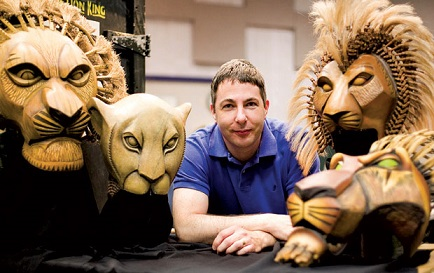 Lion King Puppet supervisor - Michael Reilly